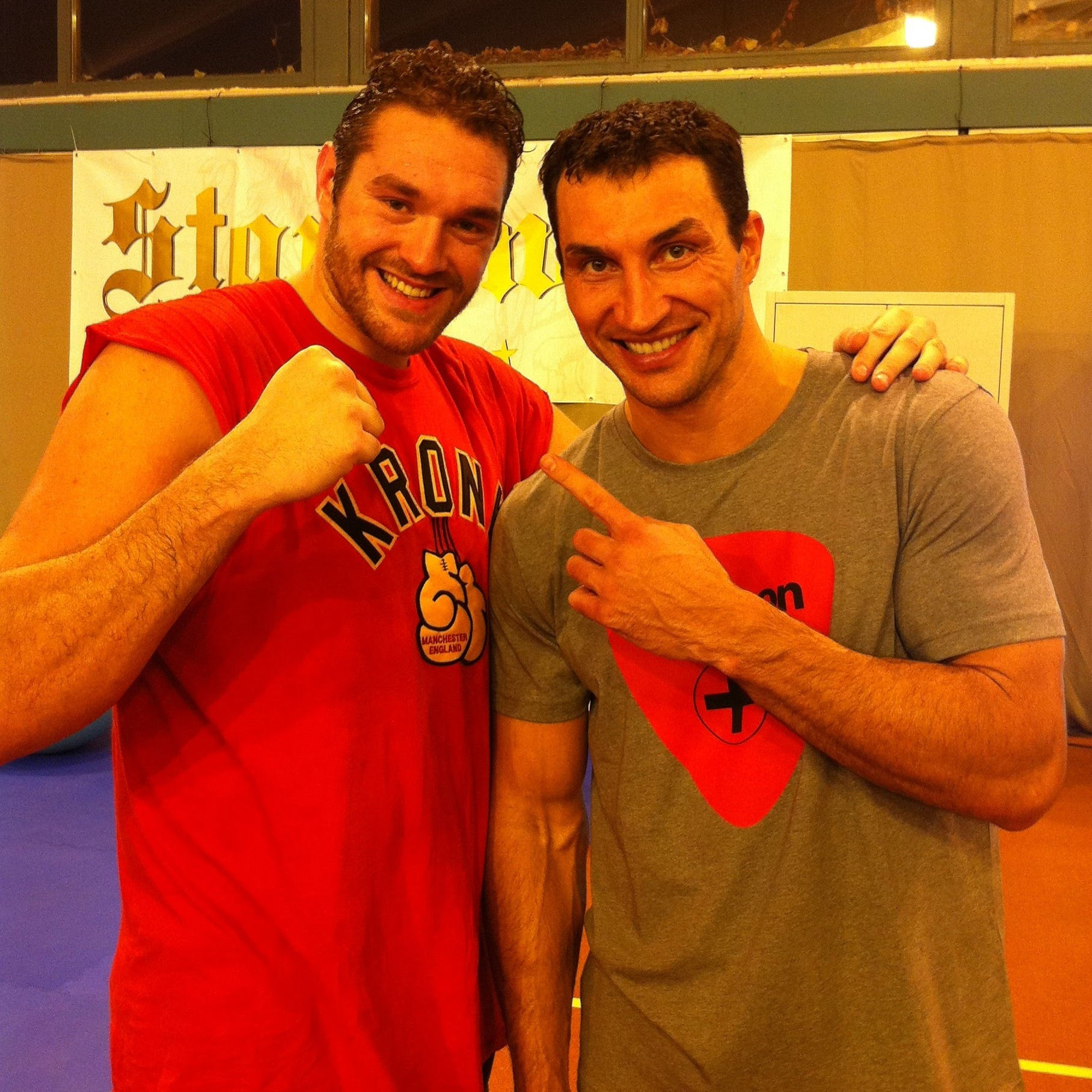 Wladimir Klitschko Psychoanalyzing Tyson's Fury~Finally
