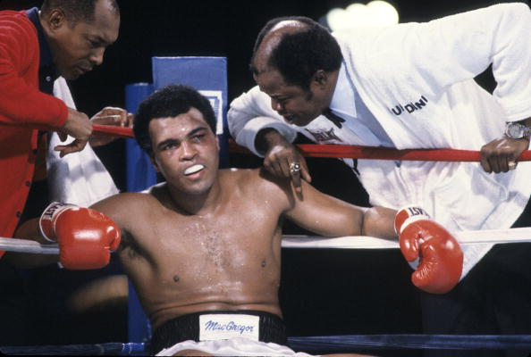 Muhammad Ali vs Larry Holmes, 1980 WBC Heavyweight Title