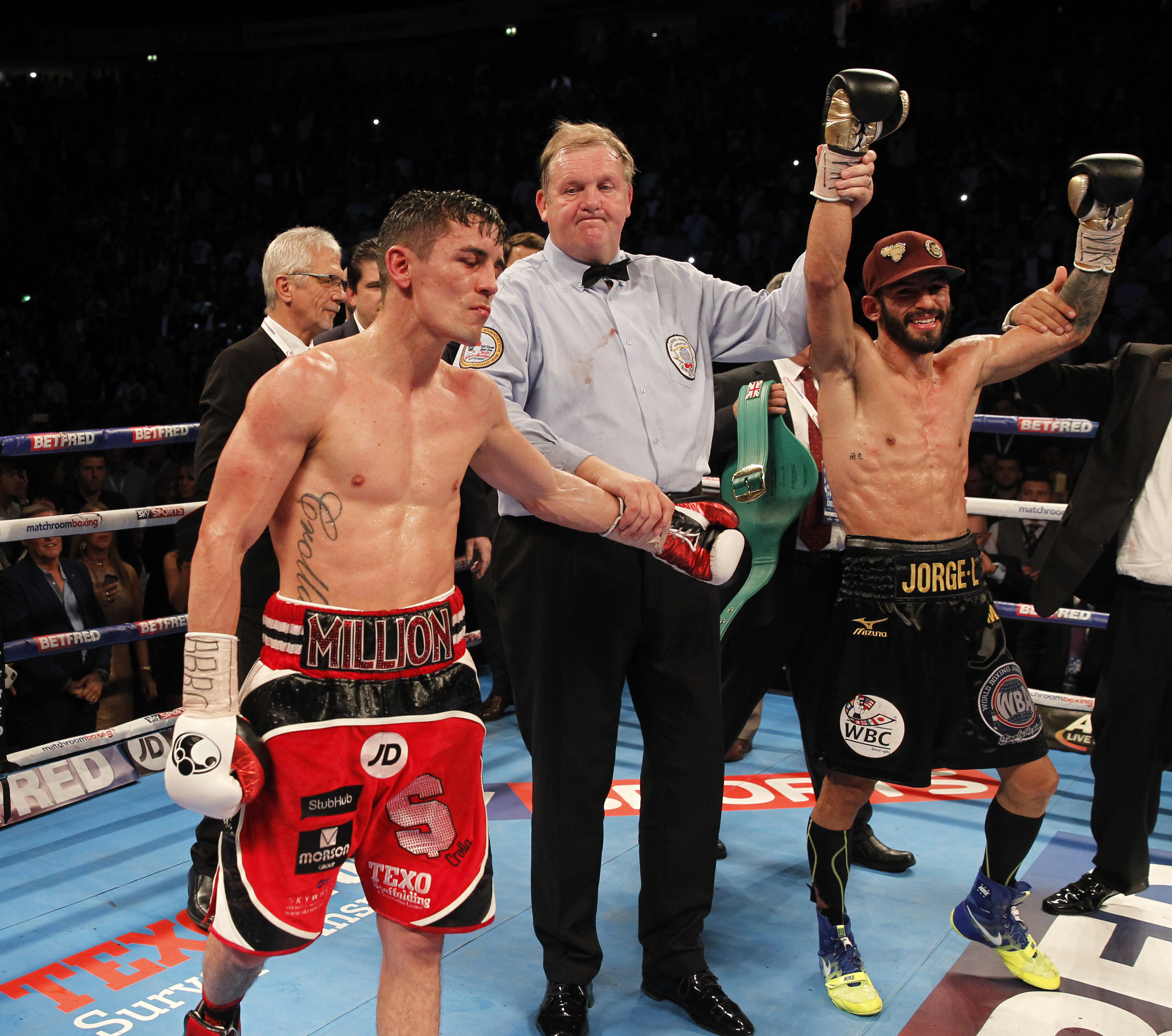 Anthony Crolla vs Jorge Linares 1