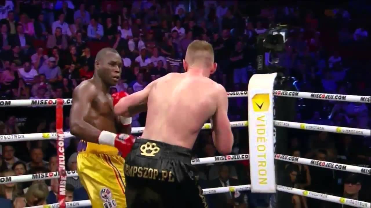 Adonis Stevenson blows away Andrzej Fonfara