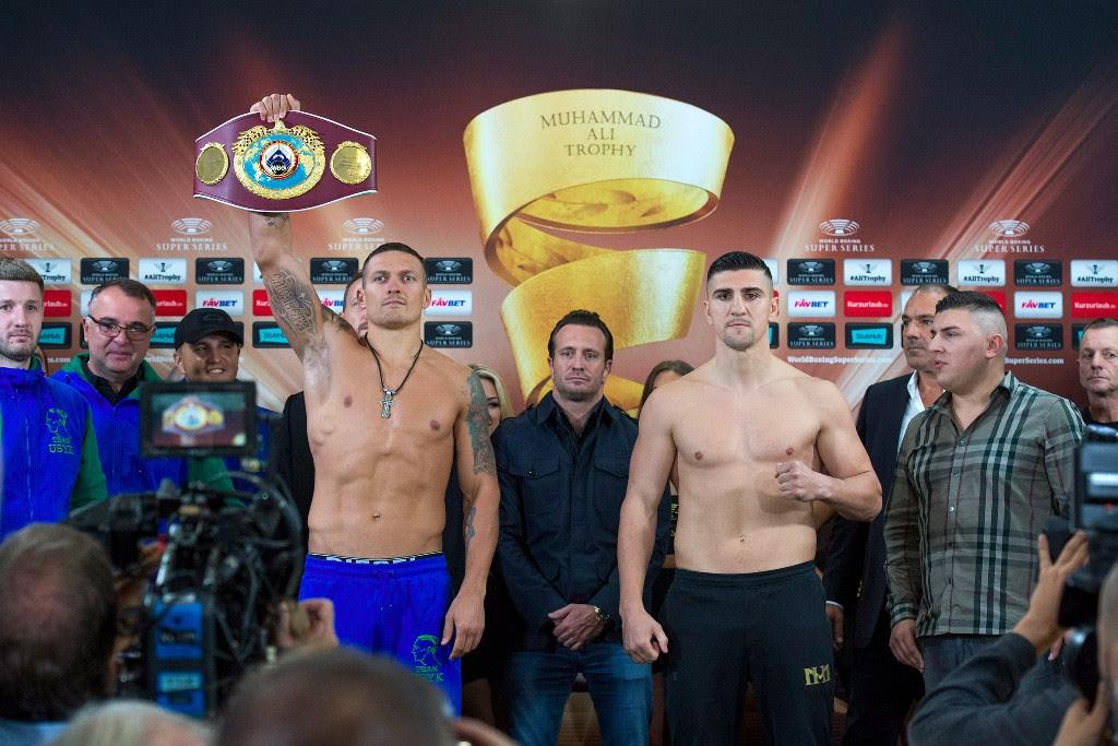 Oleksandr Usyk vs Marco Huck