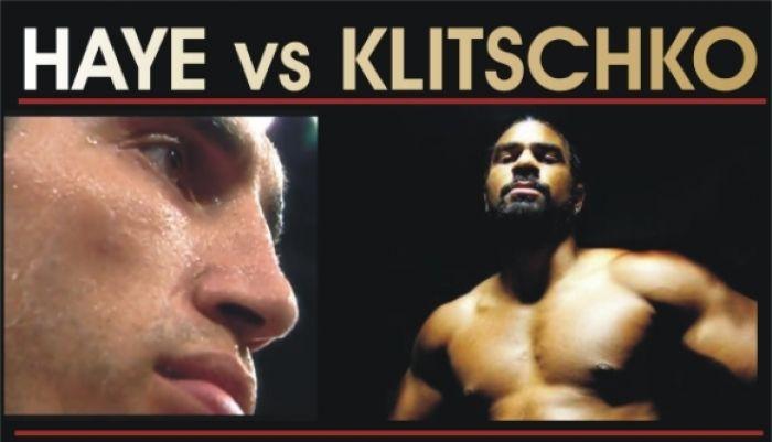 Haye vs Klitschko