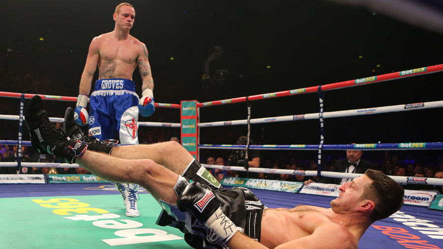 Boxing – WBA and IBF Super Middleweight Title – Carl Froch v George Groves – Phones 4u Arena