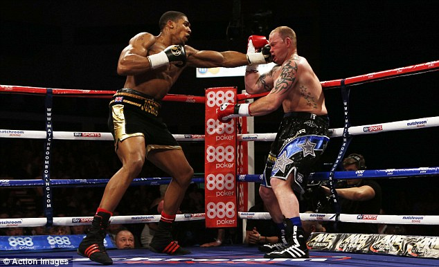 Anthony Joshua vs Dorian Darch