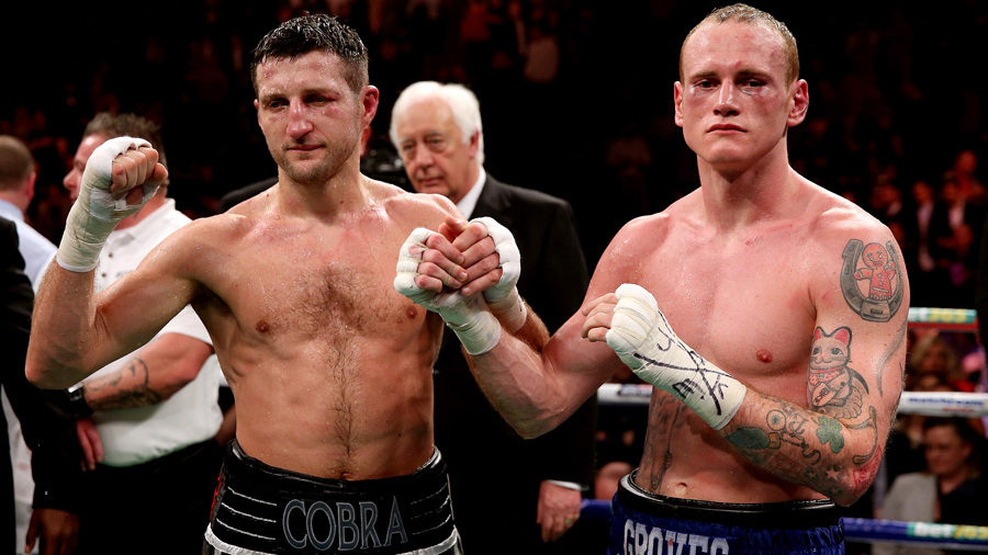Carl Froch v George Groves – IBF & WBA World Super Middleweight Title Fight