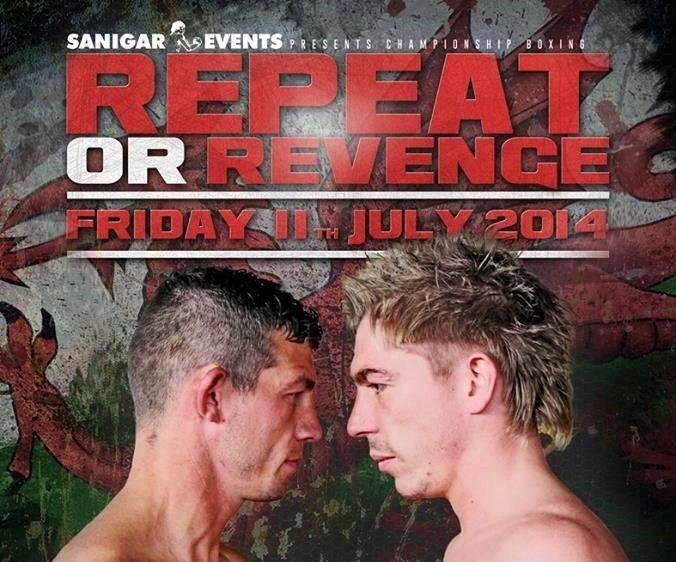 Dai Davies vs Robbie Turley Poster