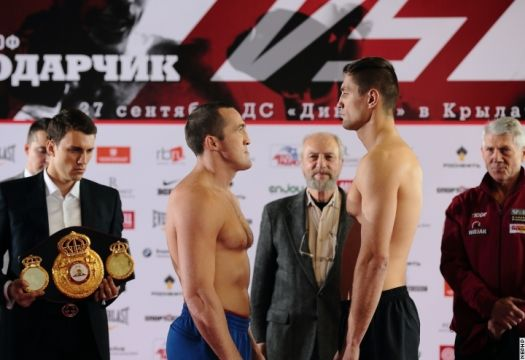 Denis Lebedev vs Pawel Kolodziej