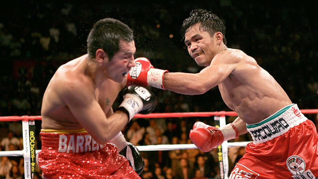 Manny Pacquiao vs Antonio Barrera