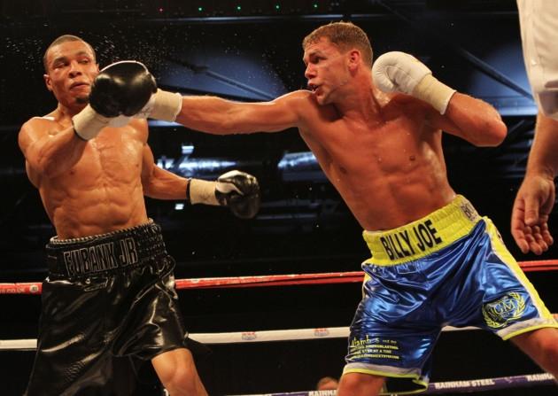 Billy Joe Saunders vs Chris Eubank Jr