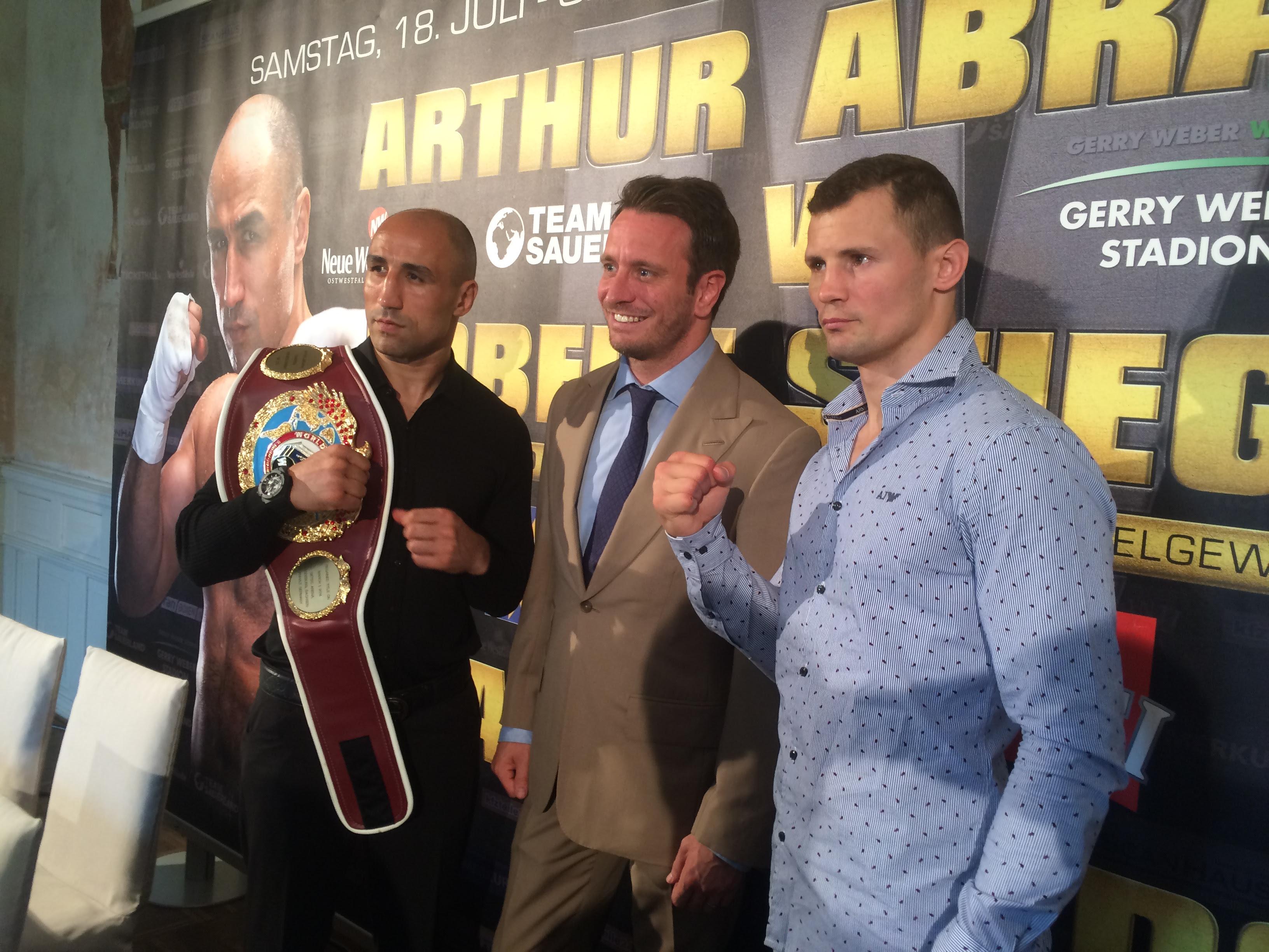 Arthur Abraham VS Robert Stieglitz