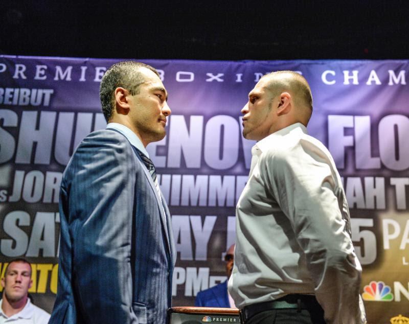 Beibut Shumenov  vs  B.J. Flores