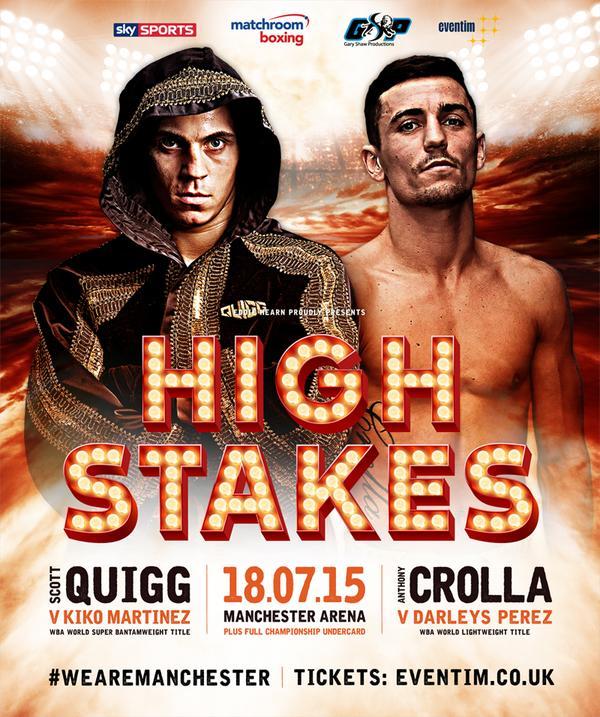 """High Stakes"" Perez Vs. Crolla"