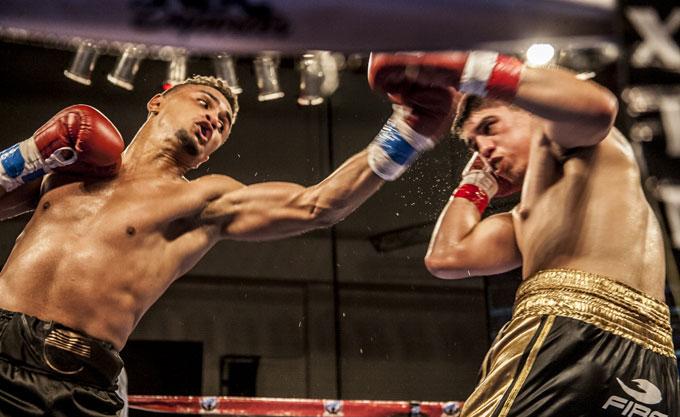Daniel Rosario vs Aaron Garcia