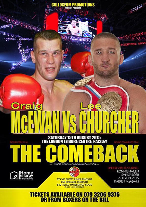 McEwan vs Churcher