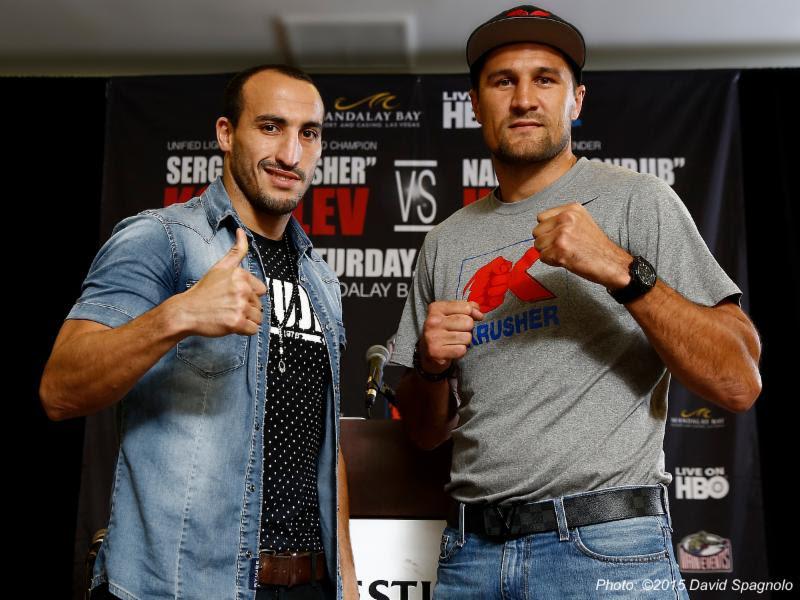 Sergey Kovalev vs Nadjib Mohammedi