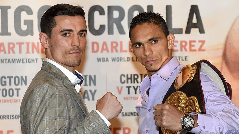 Anthony Crolla vs Darleys Perez