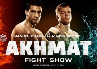 Manuel Charr vs Mairis Briedis