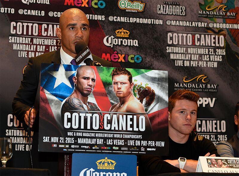 Miguel Cotto vs Canelo Alvarez