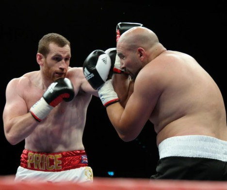 David Price vs Erkan Teper