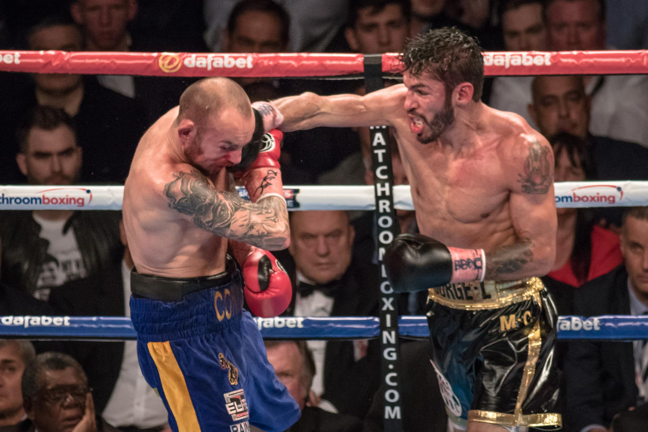 Jorge Linares vs Kevin Mitchell