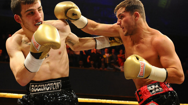 Dale Evans vs Sam Eggington