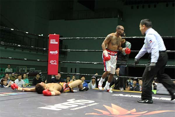 Randall Bailey vs Shusaku Fujinaka