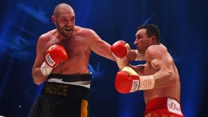 Tyson Fury vs Wladimir Klitschko