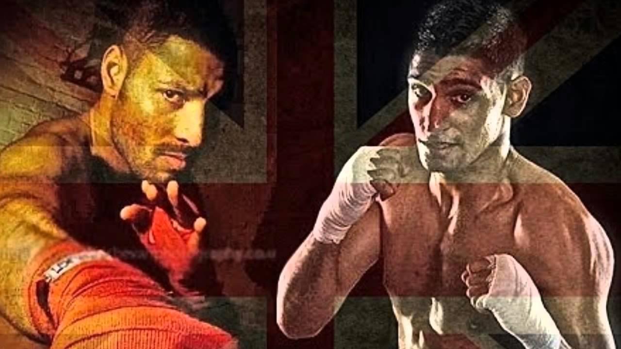 Amir Khan vs Kell Brook