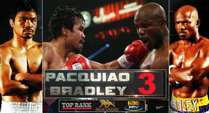 Pacquiao vs Bradley 3