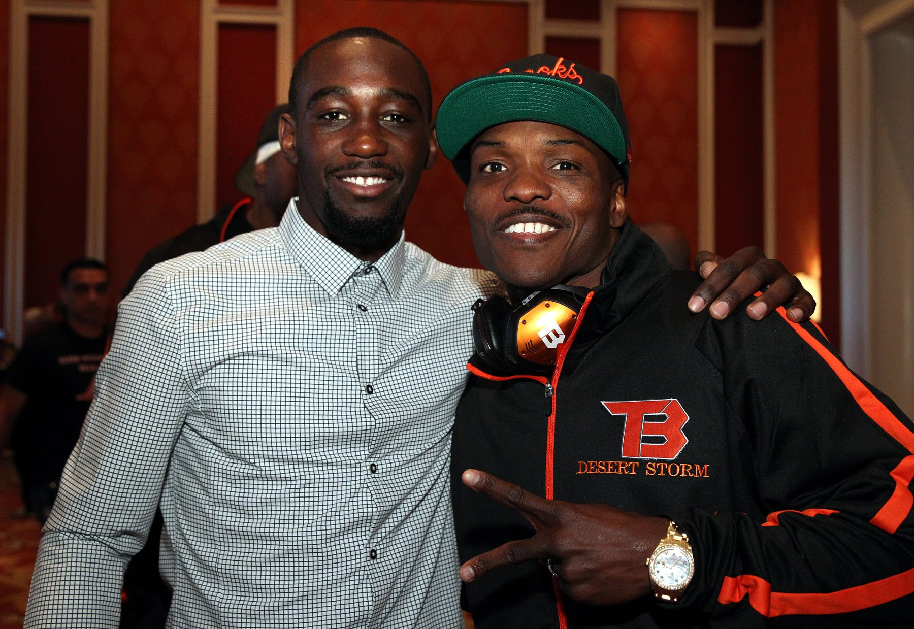 Terence Crawford and Tim Bradley