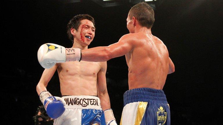 Hisashi Amagasa and Josh Warrington