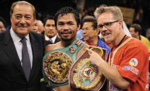 Pacquiao and Roach
