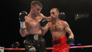 Cardle will be hoping to retain his belt against Kevin Hopper.