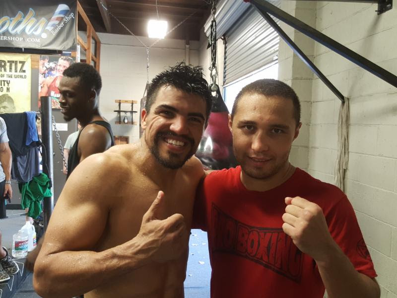 Sergey Lipinets and Victor Ortiz