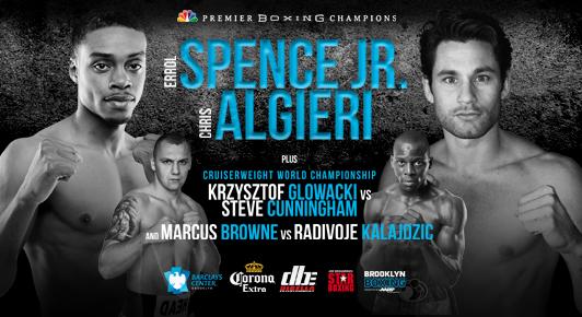 Spence vs Algieri