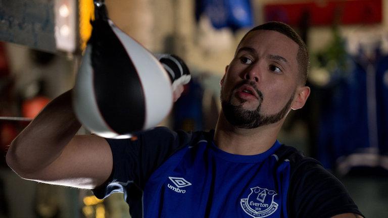 Tony Bellew Everton