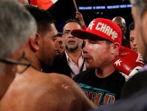 Khan vs Canelo