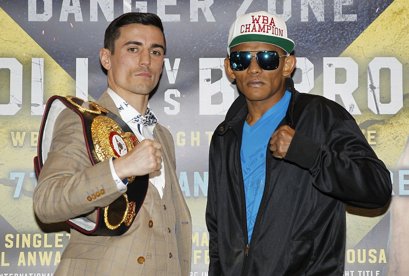Anthony Crolla vs Ismael Barroso