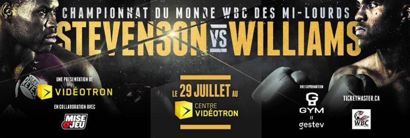 Adonis Stevenson vs Thomas Williams