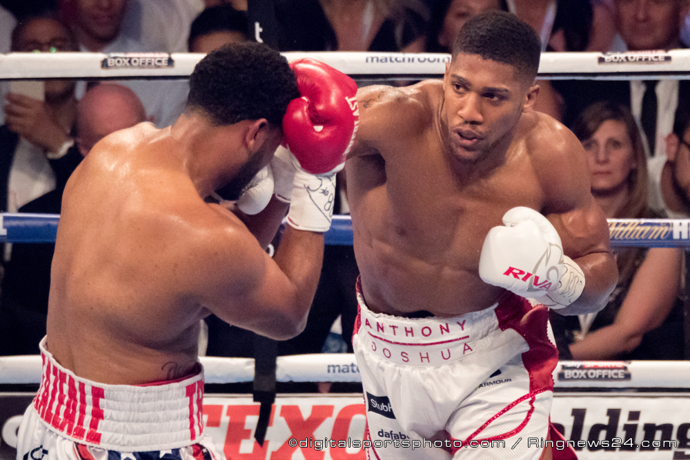 Anthony Joshua Sizzles: Pumps promise into the Heavyweight