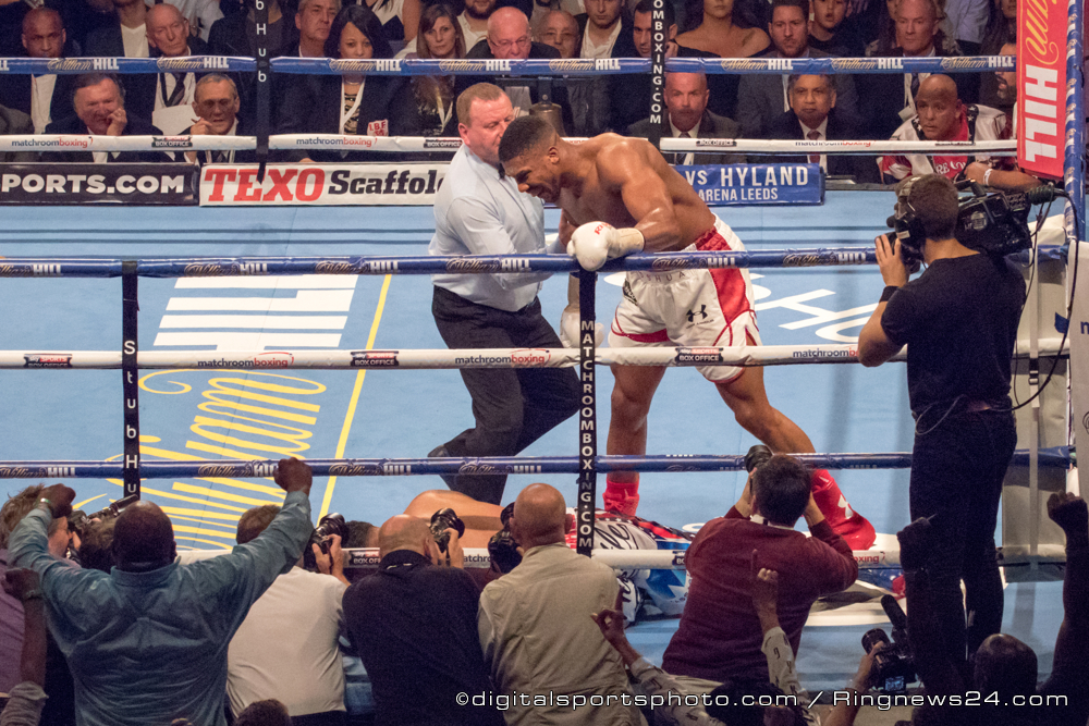 Anthony Joshua VS Dominic Breazeale – IBF World Heavyweight Title Contest during