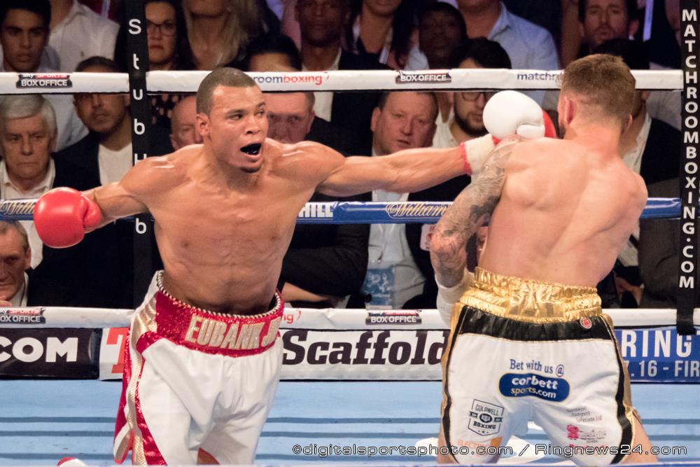 Chris Eubank JR vs Tom Doran: British Middleweight Championship contest during