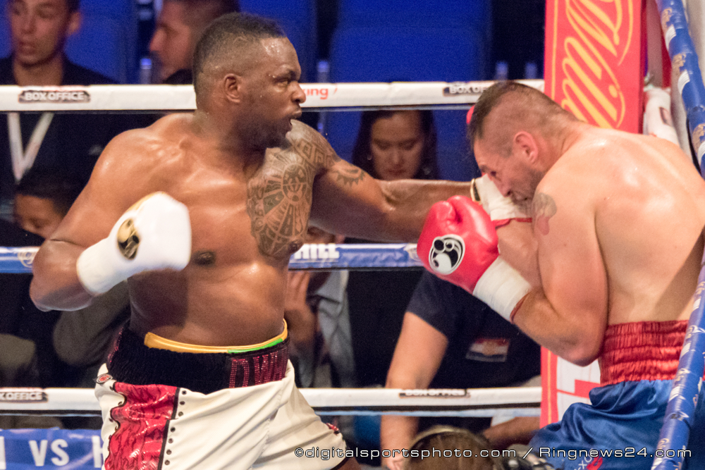 Dillian Whyte vs Ivica Bacurin