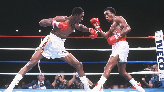Sugar Ray Leonard & Thomas Hearns