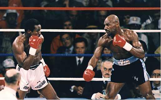 Marvin Hagler vs John Mugabi