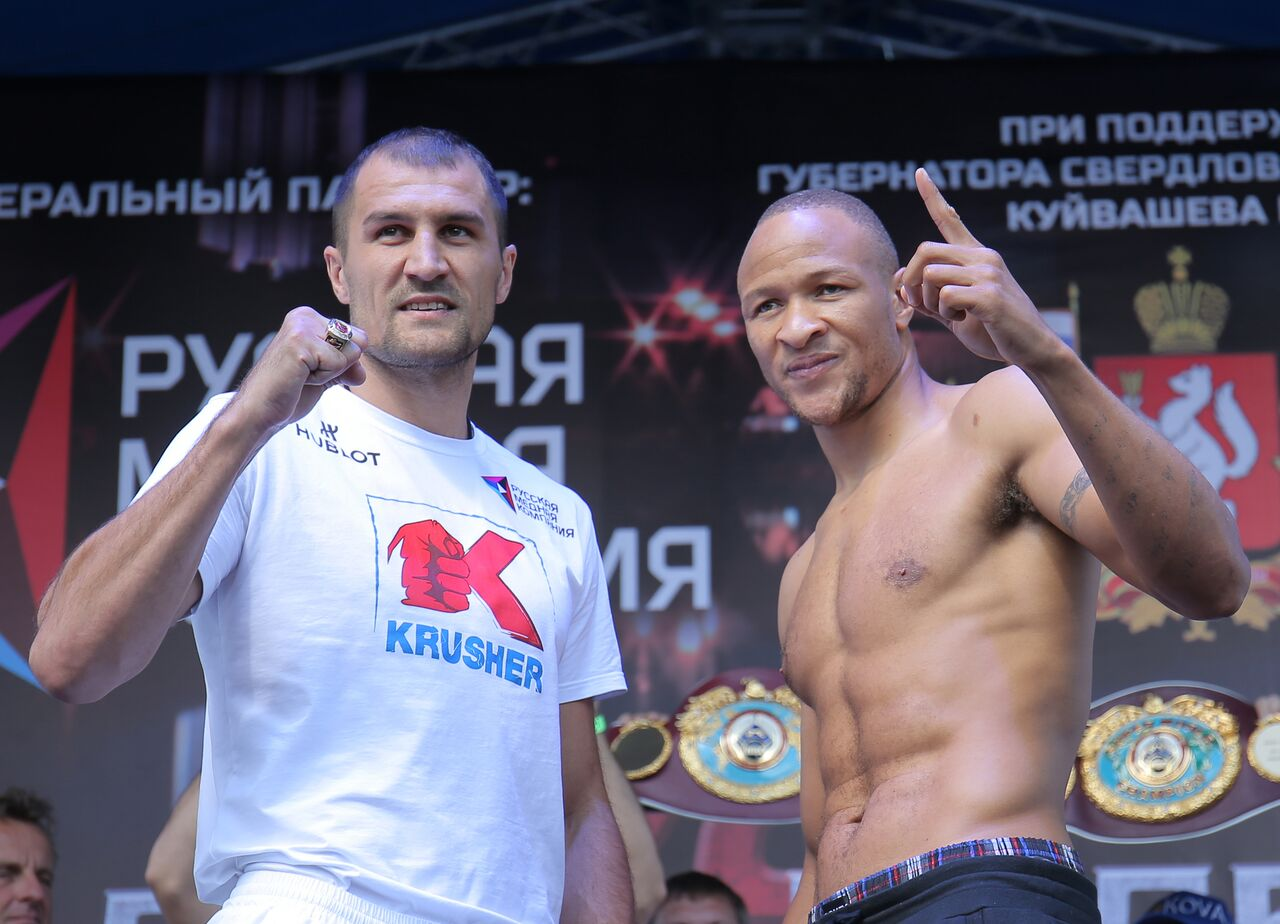 Sergey Kovalev vs Isaac Chilemba