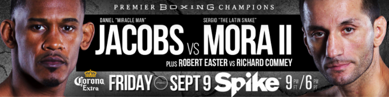 Daniel Jacobs vs Sergio Mora
