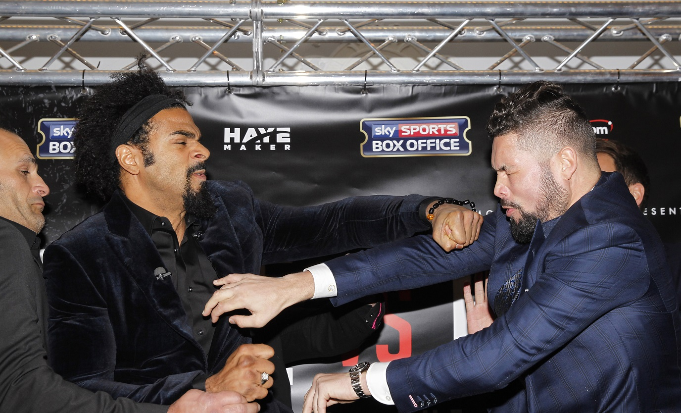 David Haye vs Tony Bellew