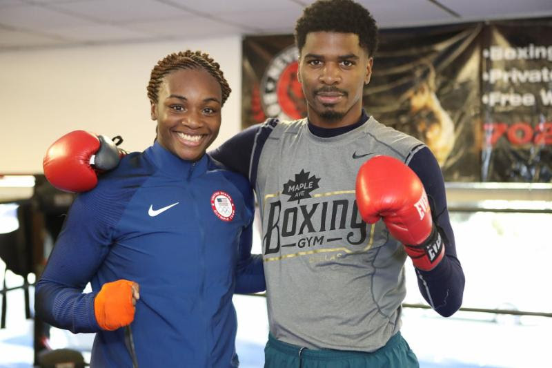 maurice-hooker-and-two-time-olympic-gold-medalist-claressa-shields