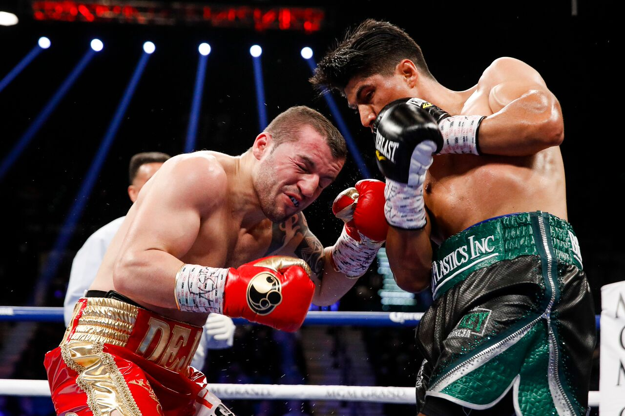 Mikey Garcia vs Dejan Zlaticanin
